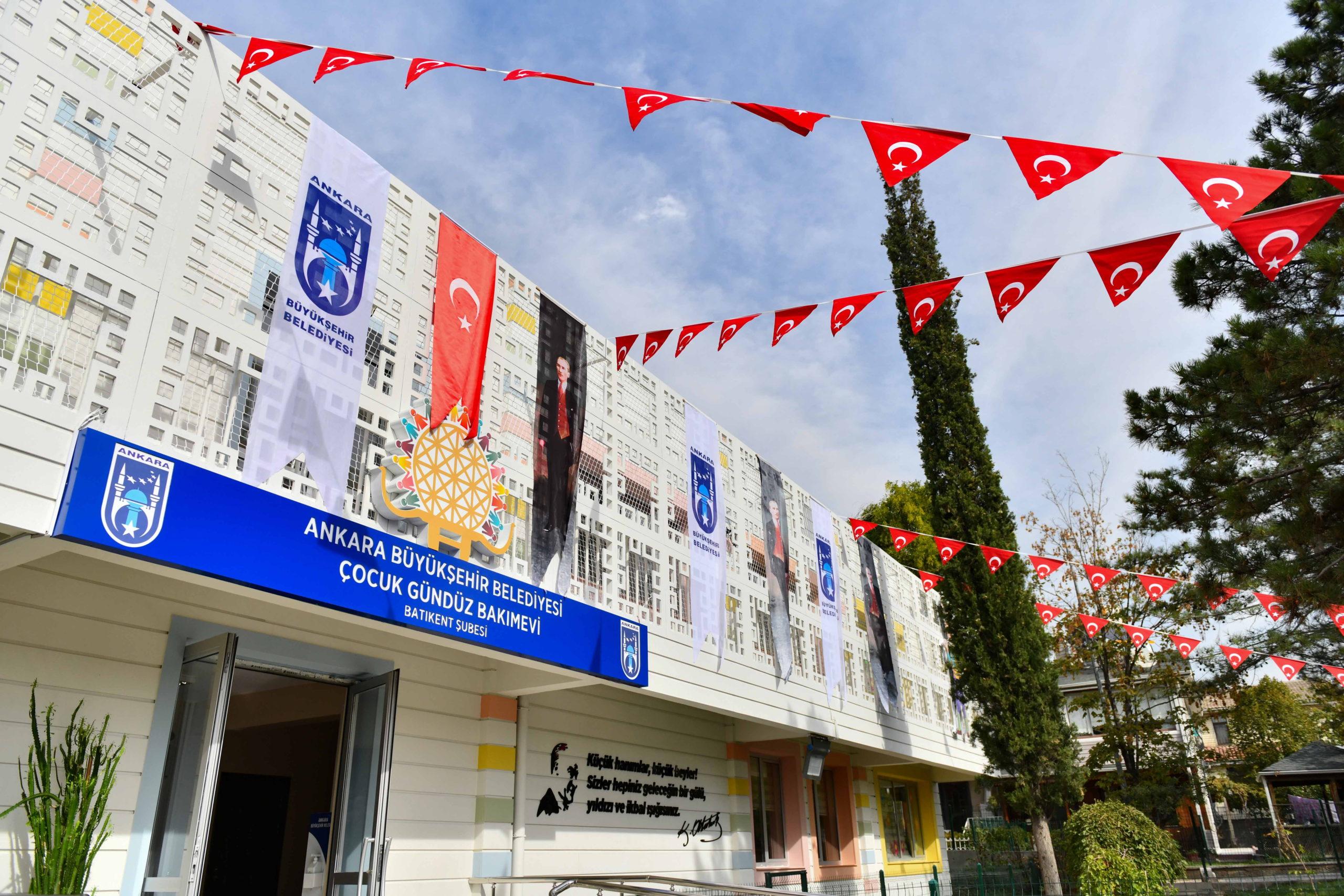 Başkent'te 'Batıkent Çocuk Gündüz Bakımevi' Hizmete Girdi