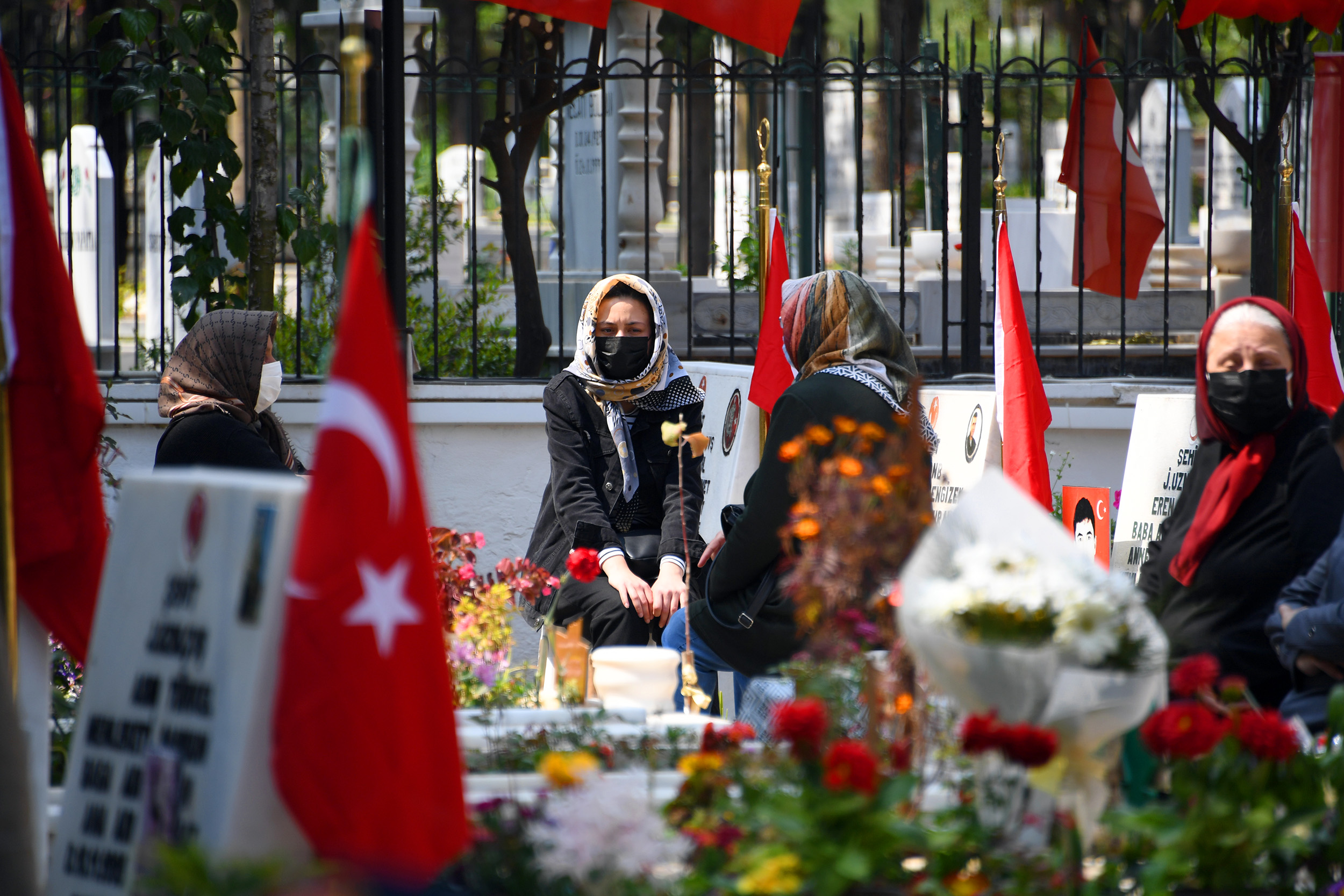 Mersin'de Şehitler Haftası'nda Şehitler Dualarla Anıldı