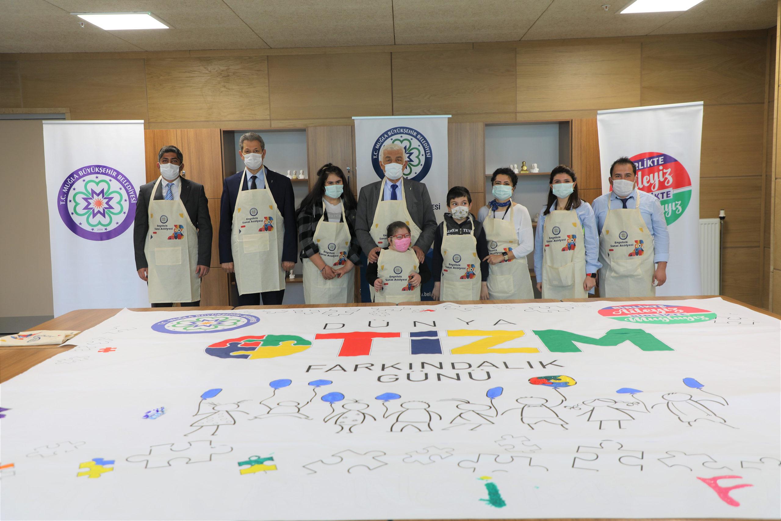 Muğla'da Dünya Otizm Farkındalık Günü Etkinliği: 'Benim Rengimi Fark Et'