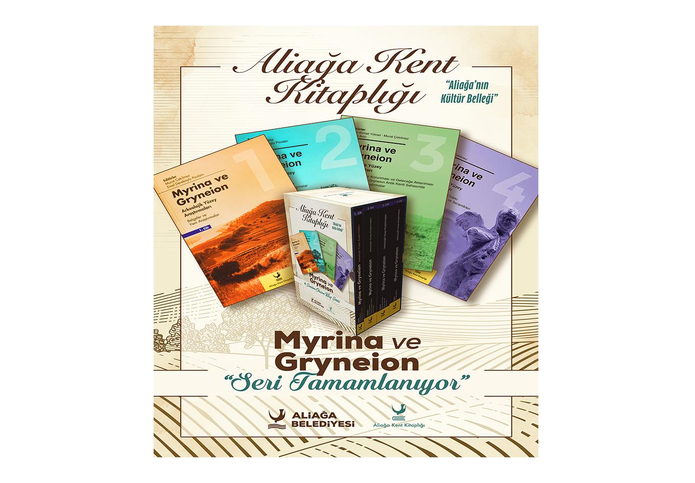 Aliağa'da Myrina ve Gryneion Serisi Tamamlanıyor