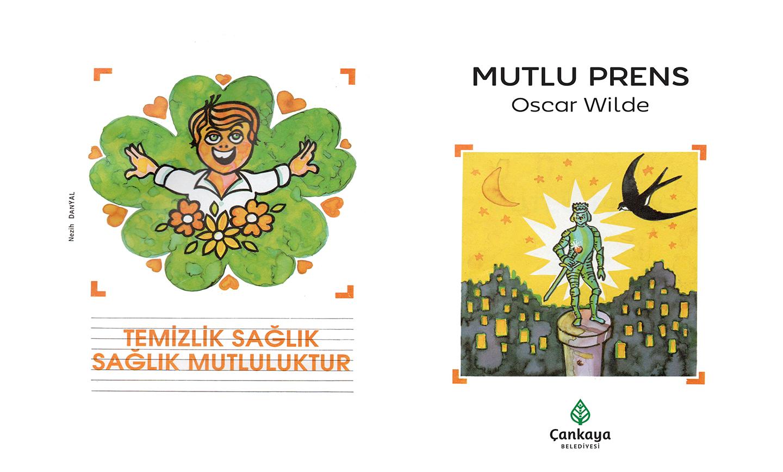 Çankaya'da 23 Nisan'da Çocuklara Kitap Armağanı