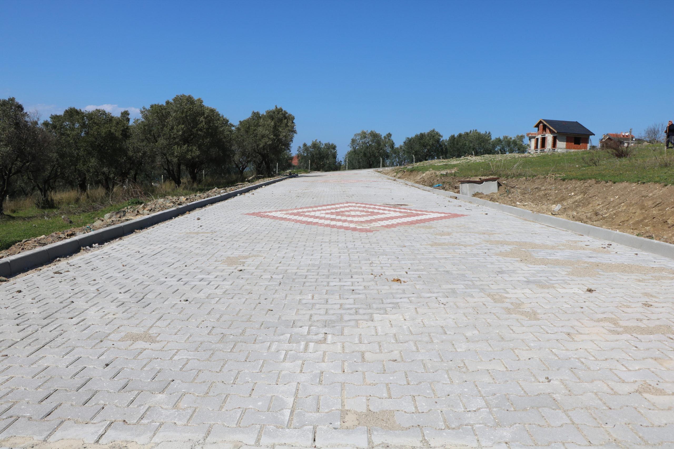 Çınarcık Çamlık Mahallesinde Parke Taşı Çalışmaları Tamamlandı
