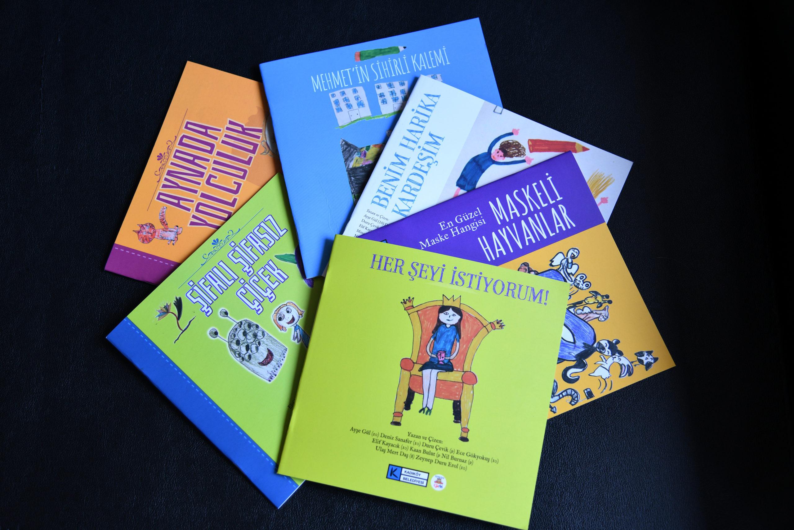 Kadıköy'de Çocuklar Kendi Kitaplarını Yaptılar