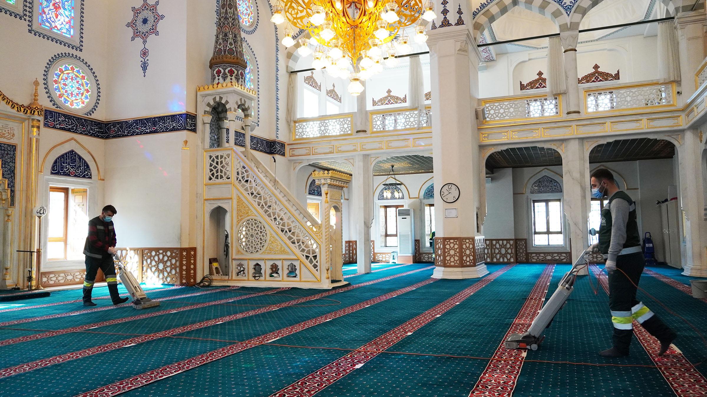 Keçiören Ramazan Ayına Gül Kokulu Camilerle Girecek