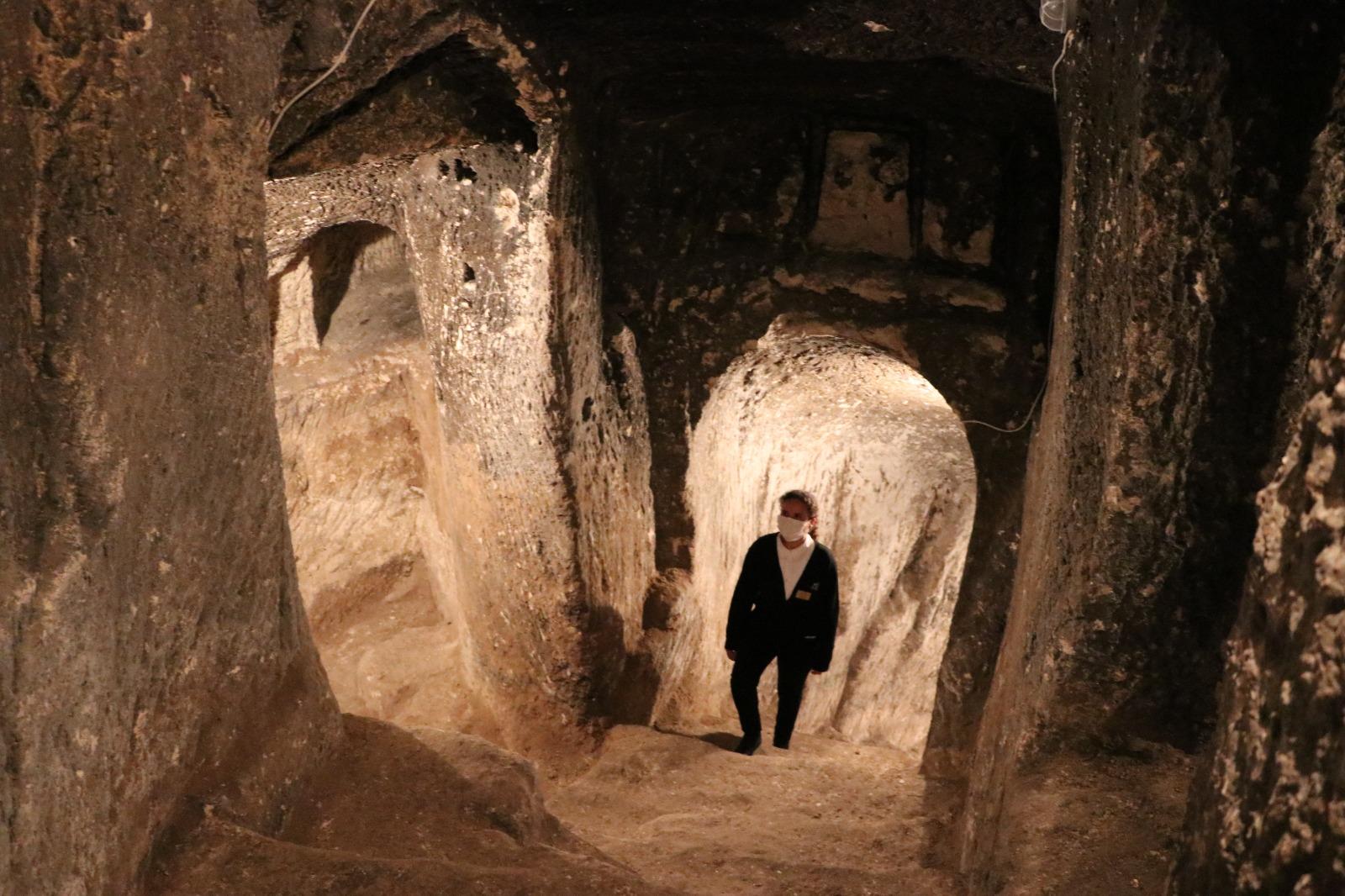Gaziantep Kalesi'nin Tünelleri Ziyarete Açılacak