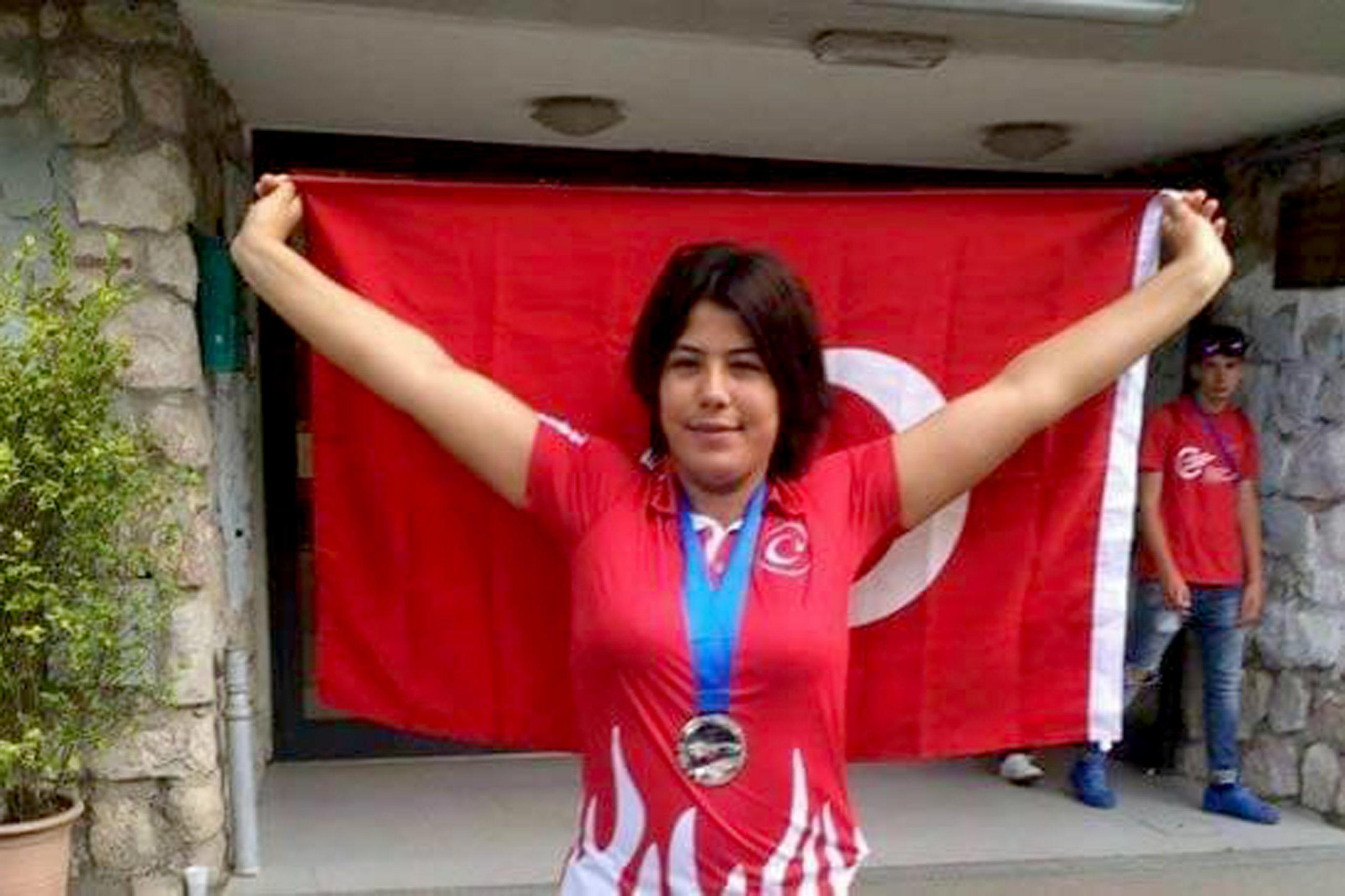 Çankaya'da Görme Engelli Sporcular Yine Başardı