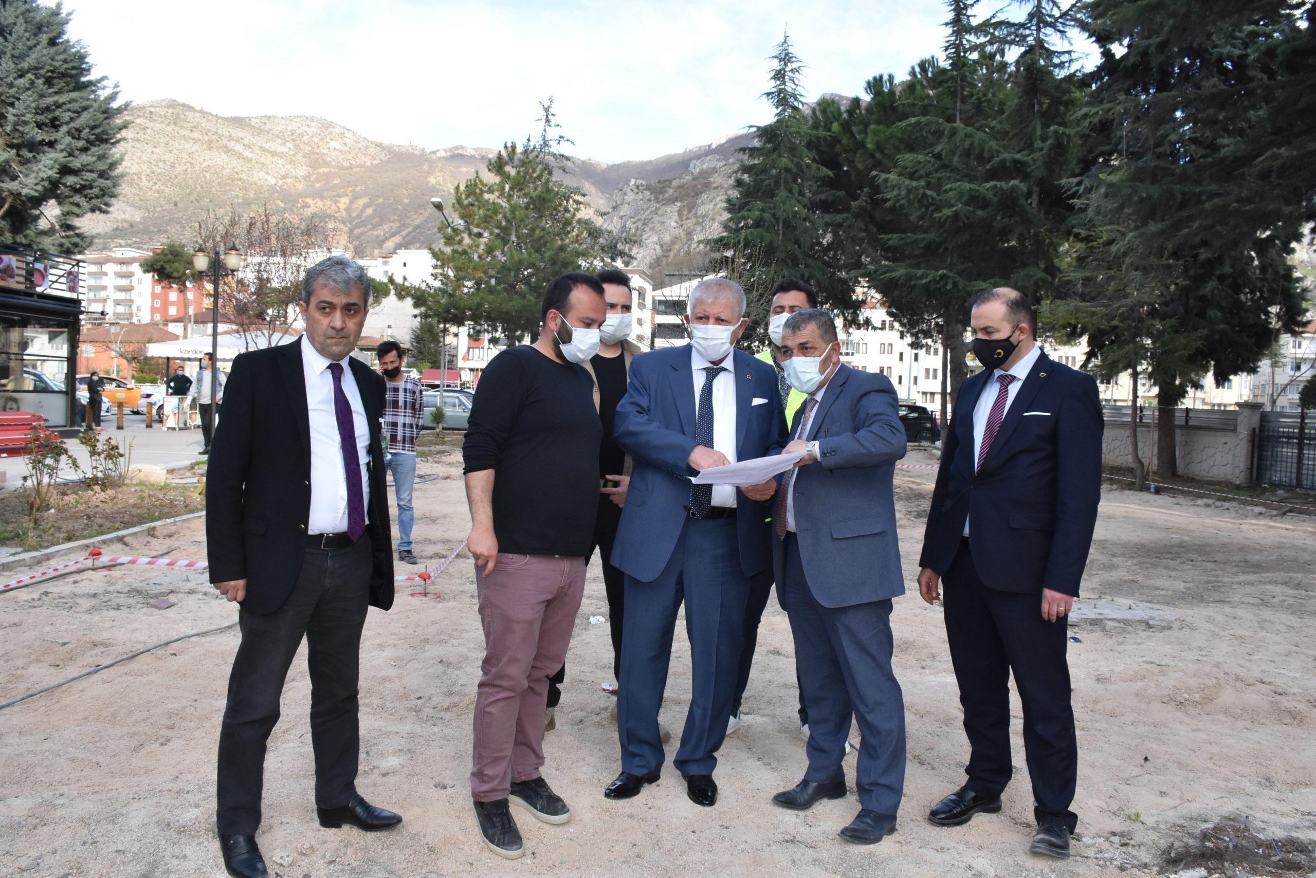 Amasya Belediye Başkanı Sarı: 'Şehidimizin İsmini Engelsiz Yaşam Parkı'nda Yaşatacağız'