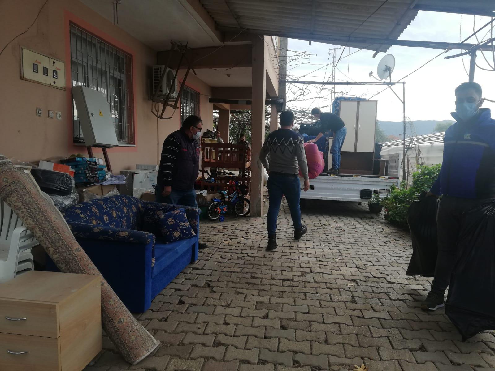 Fethiye'de 'Dükkan Senin' İhtiyaç Sahiplerine Ulaşıyor