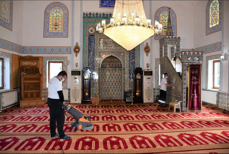 Silivri'de Camiler Ramazan Ayına Hazırlanıyor