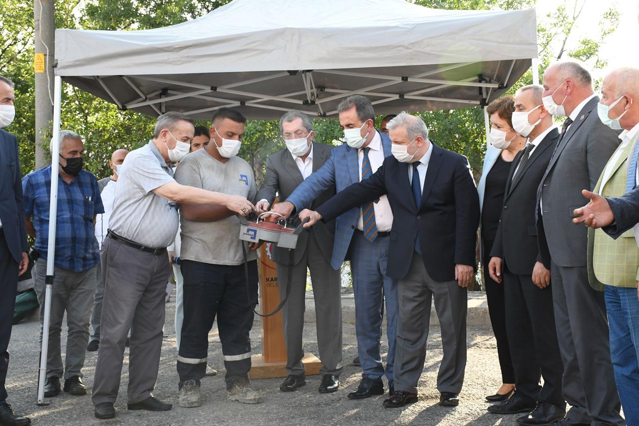 Karabük Belediyesi Bir Sosyal Yaşam Merkezi de Yeşil Mahalle'ye Açtı