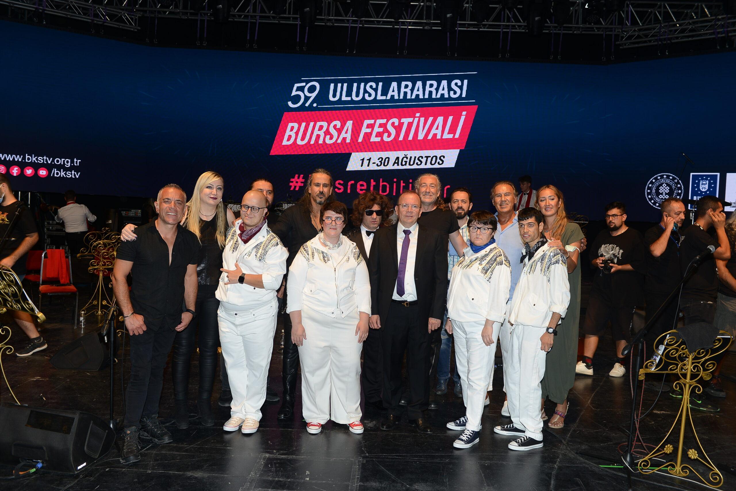 Bursa Büyükşehir'de Senforock Gecesi