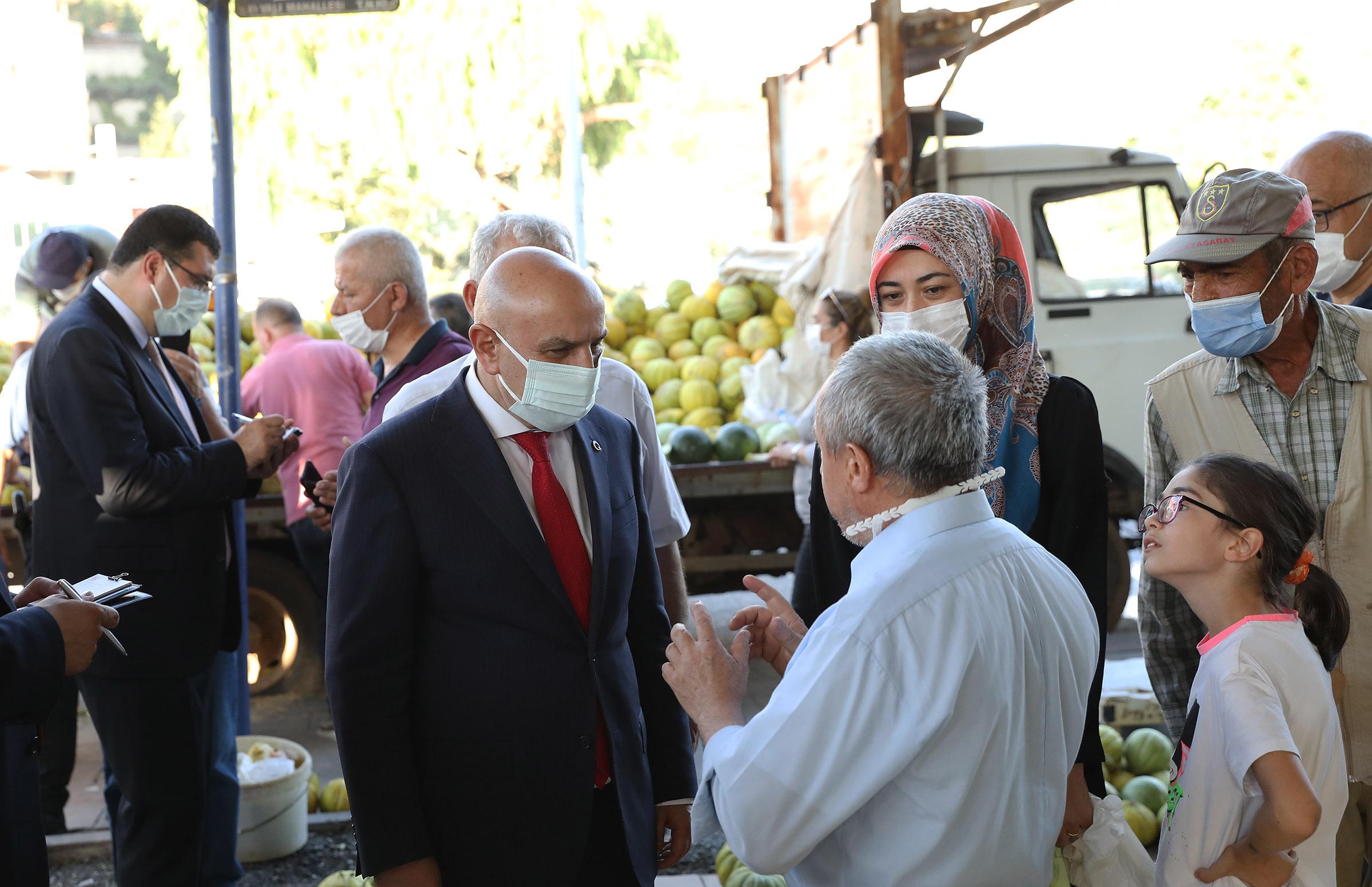 Keçiören Belediyesi, Çiftçiler İçin 'Organik Köylü Pazarı' Kurdu
