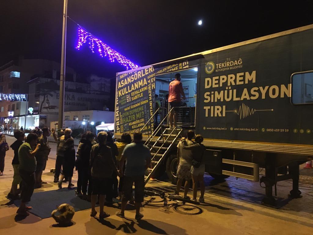 Tekirdağ Büyükşehir, 17 Ağustos Depremini Etkinliklerle Andı