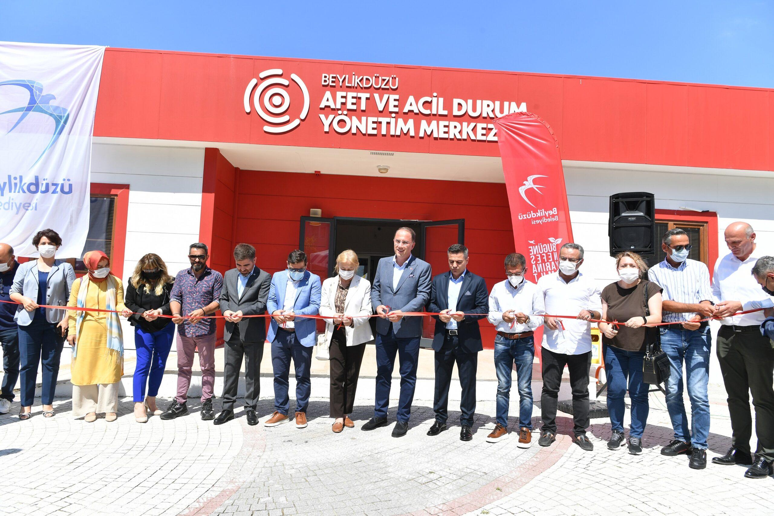 Beylikdüzü Afet ve Acil Durum Yönetim Merkezi Açıldı