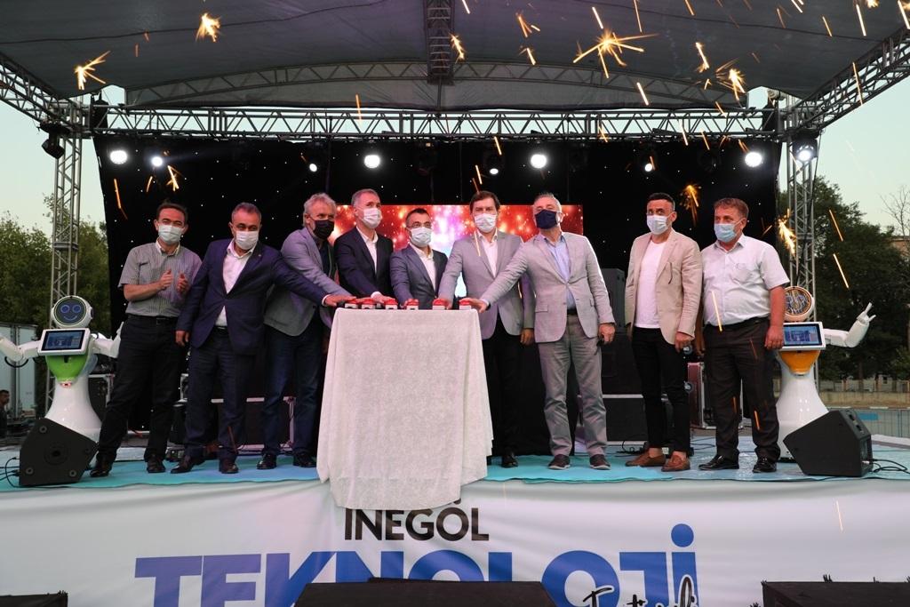 İnegöl'de, Teknoloji Festivali Başladı