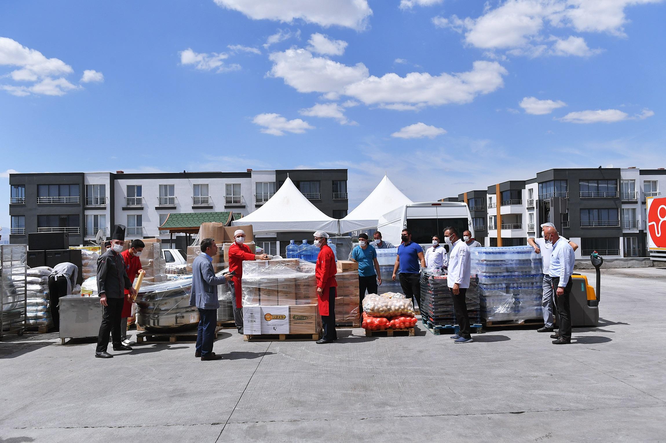 Ankara Büyükşehir Belediyesi, Sel Bölgelerinde Yaraları Sarıyor
