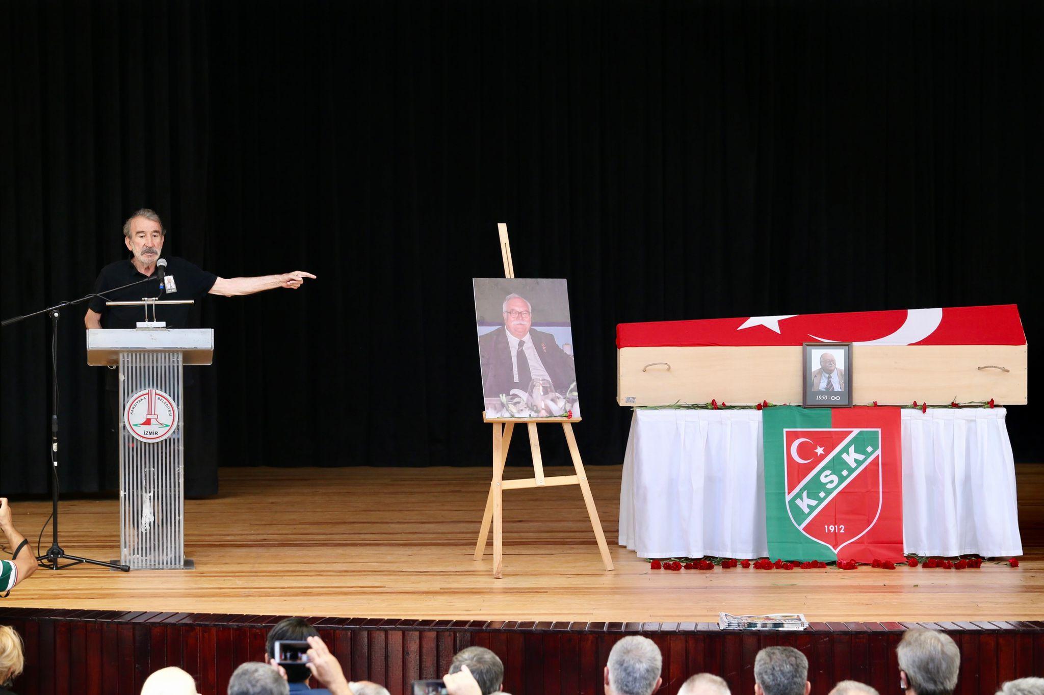 Karşıyaka Belediyesi, Sancar Maruflu İçin Cenaze Öncesi Saygı Etkinliği Gerçekleştirdi