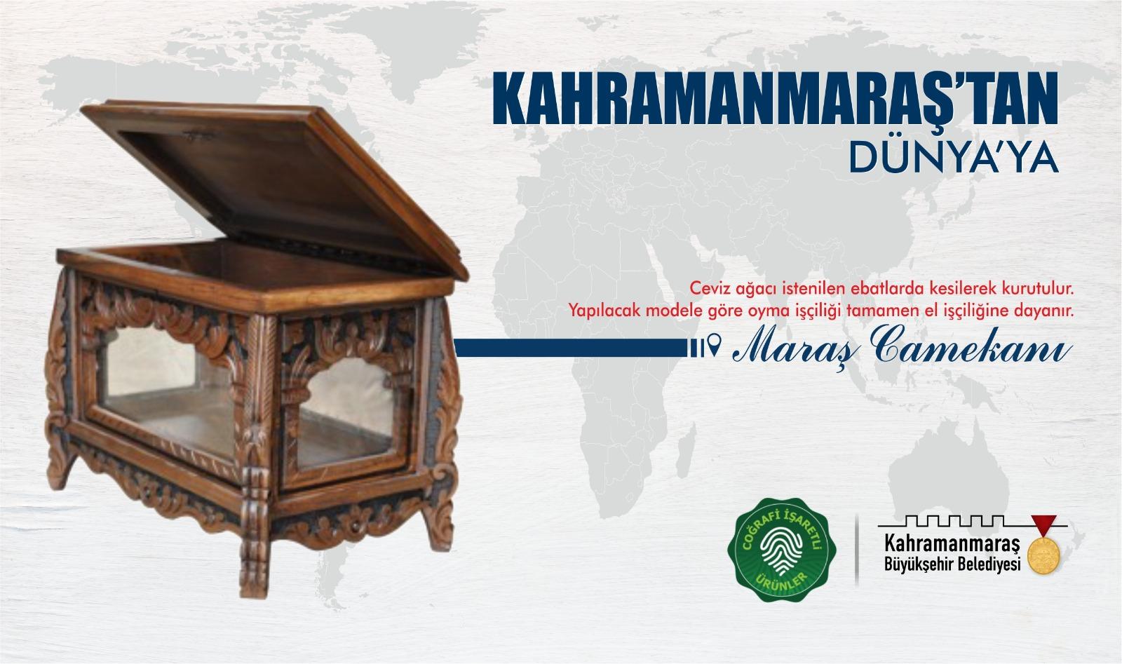 Kahramanmaraş Büyükşehir, Maraş Camekanı ile Maraş Rahlesi'ni Tescilledi