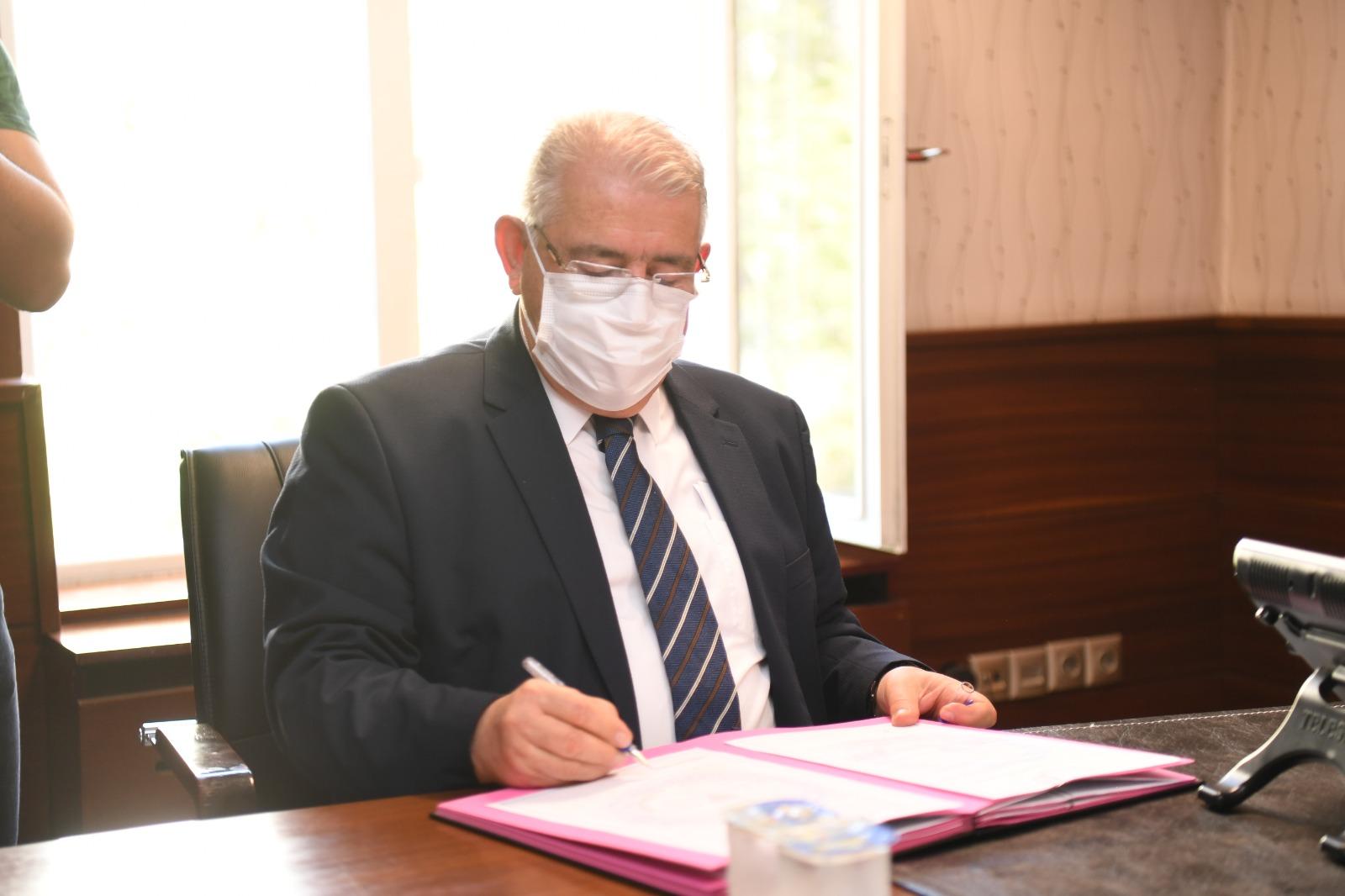 Onikişubat Belediyesi, Açacağı Tekir İmam Hatip Lisesi İçin Protokol İmzaladı