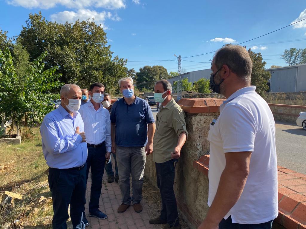 Gebze Belediye Başkanı Büyükgöz, Mahalle Ziyaretlerini Sürdürüyor