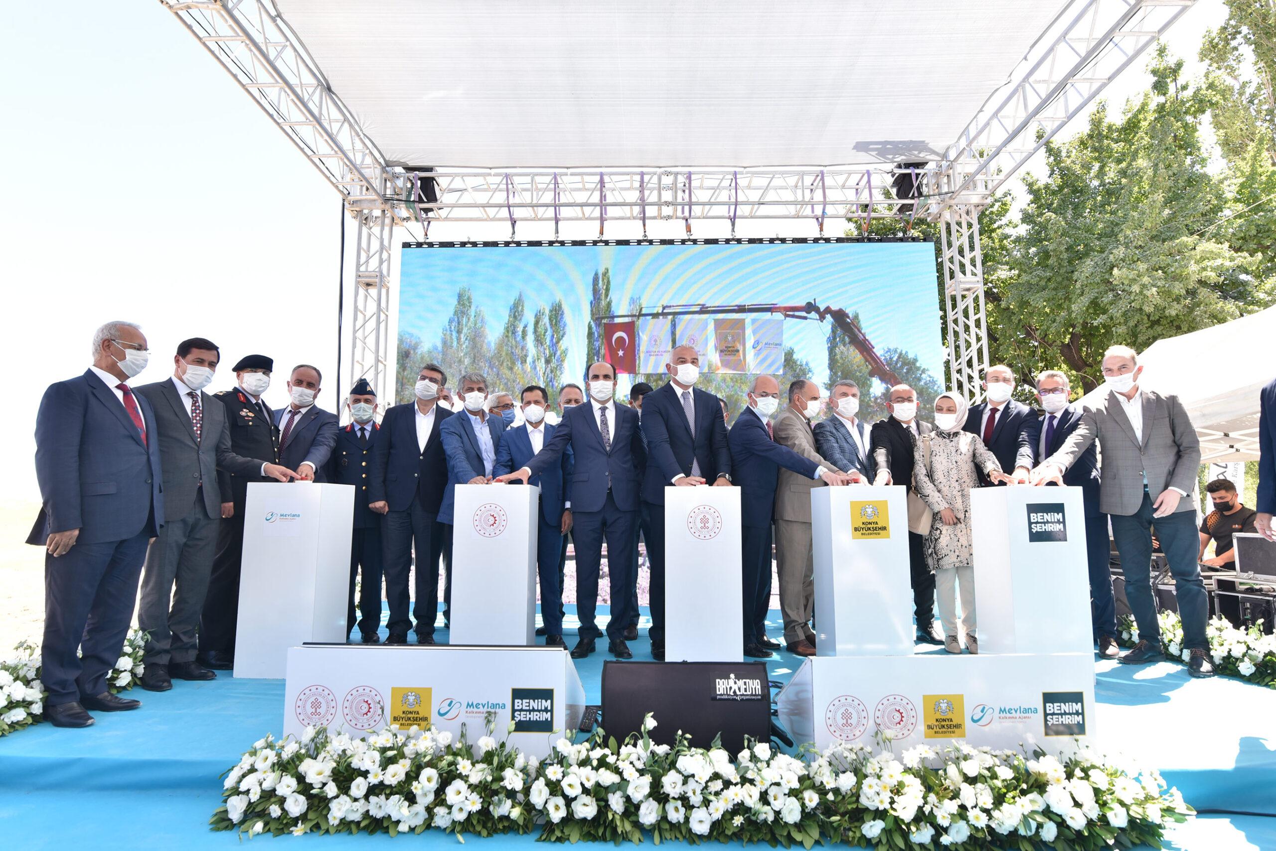 Konya'da, Çatalhöyük Tanıtım ve Karşılama Merkezi'nin Temeli Atıldı