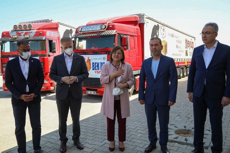 Gaziantep Büyükşehir Belediye Başkanı Şahin, Afet Bölgelerine Maaşını Bağışladı