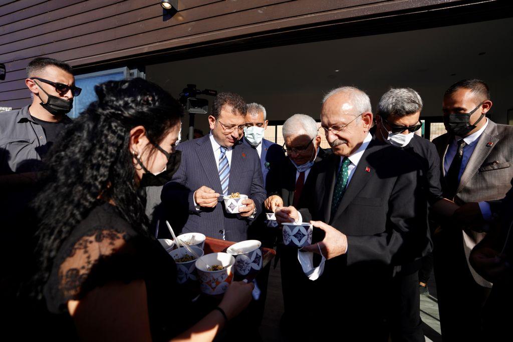 CHP Genel Başkanı Kılıçdaroğlu'ndan, İBB Başkanı İmamoğlu'na 'Hacıbektaş' Teşekkürü
