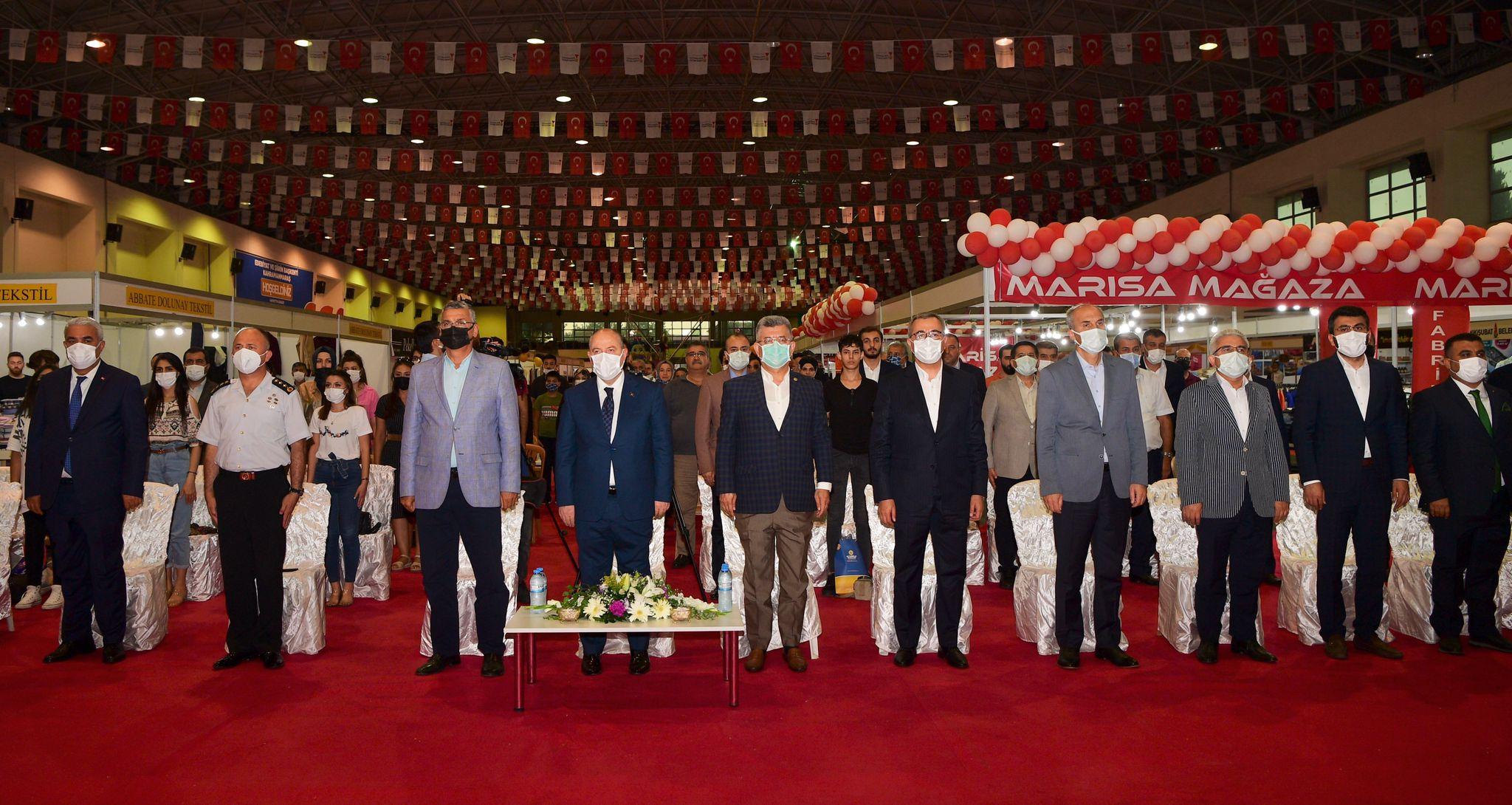 Kahramanmaraş'ta Bölgenin En Büyük Alışveriş Fuarı Açıldı