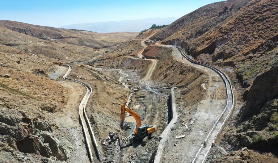 Van'ın En Büyük Sulama Kanalı Projesi Hayata Geçiriliyor