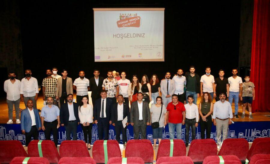 Roman Gençlik Çalıştayı Karşıyaka'da Gerçekleşti