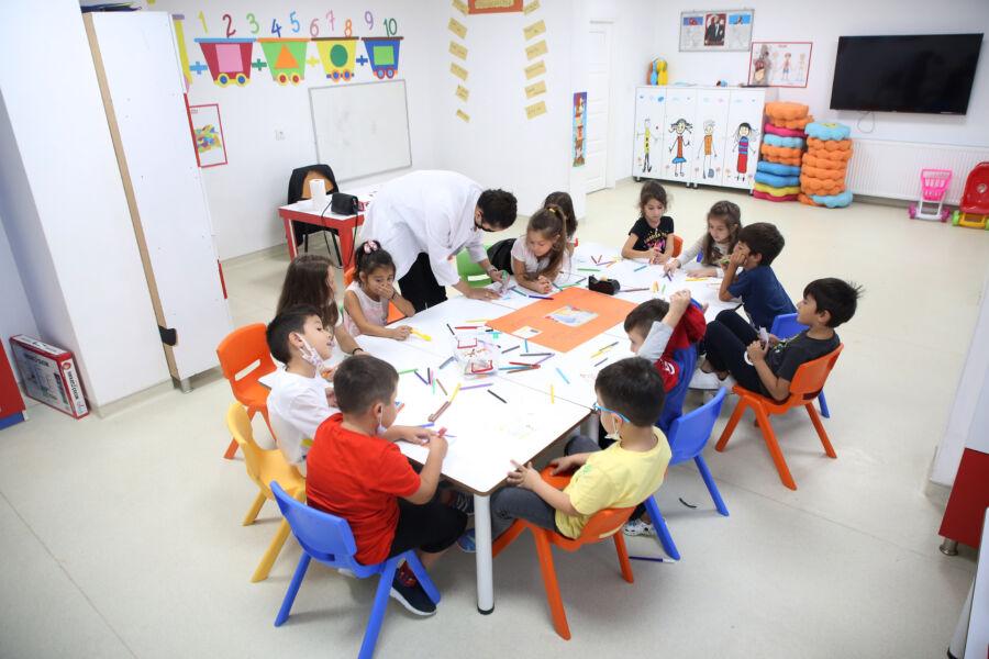 Atakum, AtaÇocuk Anaokulu'nda İlk Ders Heyecanı