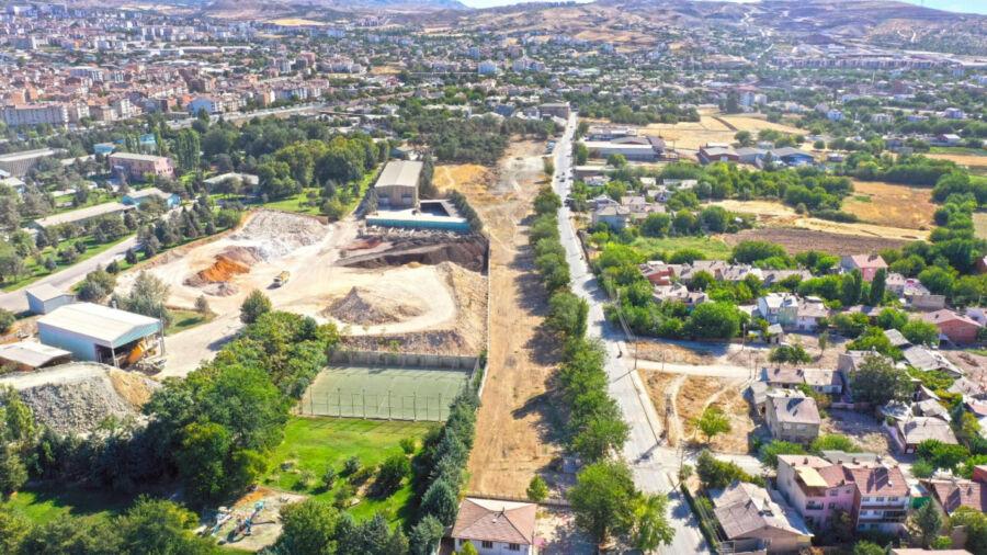 Elazığ Belediyesi'nce Aksaray Mahallesine Yeni Yaşam Alanı Yapılıyor