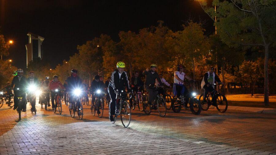 Isparta, Avrupa Hareketlilik Haftasına Bisiklet Turuyla Başladı