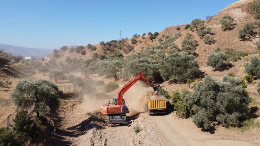 Nazilli Belediyesi Dere Yatağı Islah Çalışmasını Tamamladı