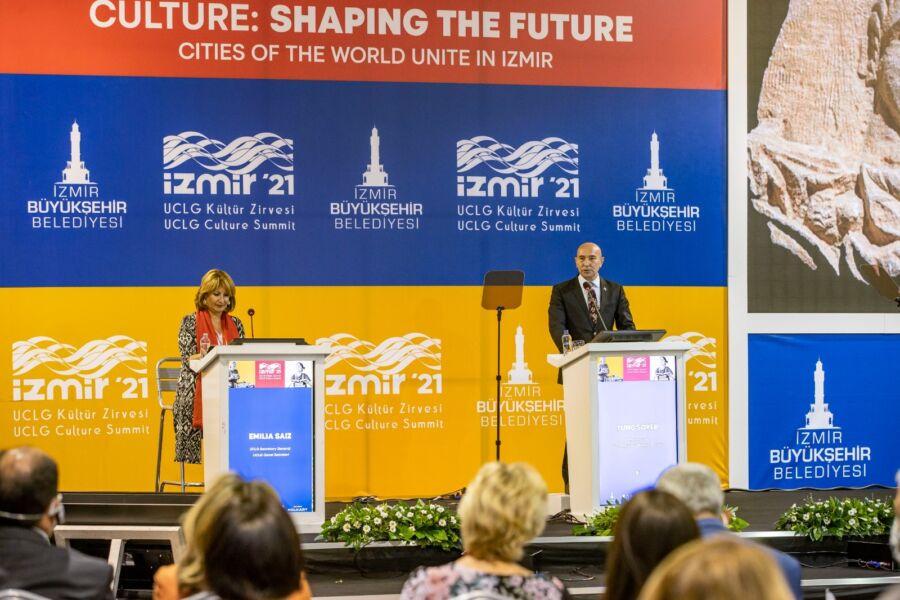 Dünya Belediyeler Birliği (UCLG) Kültür Zirvesi, İzmir'in Ev Sahipliğinde Gerçekleşti