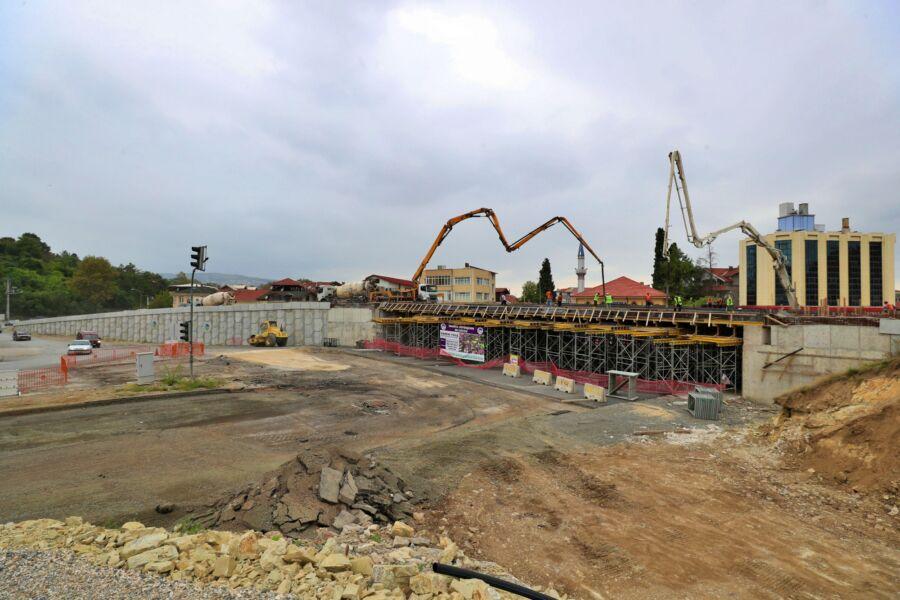 Sakarya Büyükşehir Belediyesi SGK Kavşağı Projesi'nde Sona Geldi